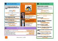 Contacts Orange – Seine-et-Marne – Juin 2020